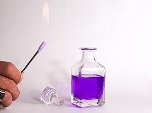 Turkish Fire Jar Set, methylated spirit 100ml, Hair Burning stick Free Delivery