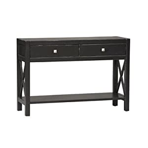 Linon Home Decor 86107C124-01-KD-U Anna Console Sofa Table,