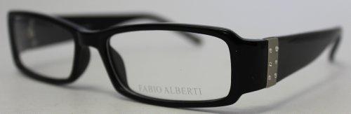 Fabio Alberti Ophthalmic Eyewear Plastic Frame FA907 2 Black