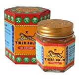 30 g TIGER BALM RED Herbal Rub Massage ointment Pain Relief Muscle Ache Menthol+Free Shipping World Wide