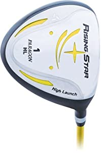 Paragon Rising Star Kids Junior Driver Ages 5-7 Yellow by Paragon Golf