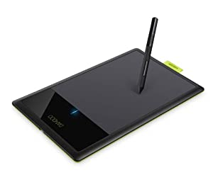 Wacom Bamboo Splash Pen Tablet CTL471 (Black/Green)