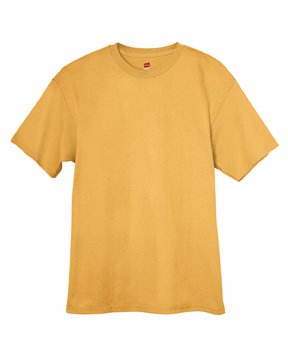 Hanes 6 oz. Tagless T-Shirt, Gold Nugget
