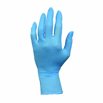 ProWorks GL-N103EPF-SM Nitrile Exam Grade Disposable Gloves, Blue, Powder-Free, Small (100/Box, 10 Boxes/Case)