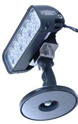 Handheld Led Emitter Light - 200Lb Grip Magnet - 2160 Lumens -550'L X 90'W - 12/24 Volts - Cig Plug(