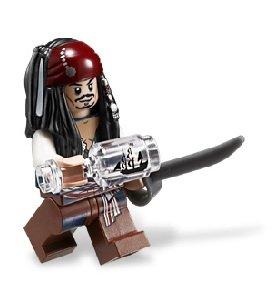 ■【LEGO・レゴ】パイレーツ・オブ・カリビアン 船長のキャビン(4191)