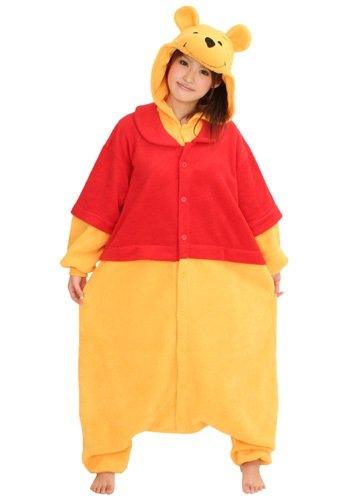 Adult fleece costume Disney Winnie the Pooh (japan import)