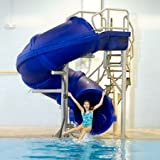Pool Slides:Vortex Swimming swimming pool Slide along with Top