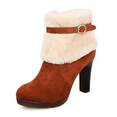 Frauen Blockabsatz Mode Stiefel Stiefeletten (mehr Farben) jetzt bestellen