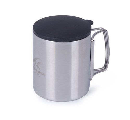 Outdoor Camping Cup Water Cup Double Wall Portable And Lightweight front-595176