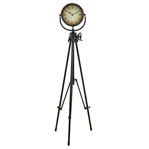 Aspire Home Accents Declan Tripod Floor Clock