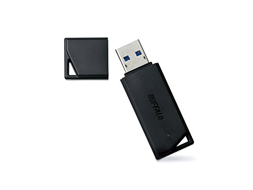 BUFFALO USB3.0対応 USBメモリ バリューモデル 32GB ブラック RUF3-K32GA-BK/N  [フラストレーションフリーパッケージ(FFP)]