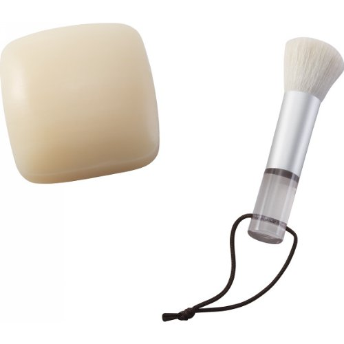 熊野化粧筆 筆の心 洗顔ブラシ&ソープ