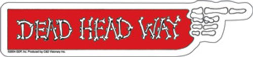 Licenses Products Grateful Dead Deadhead Way Sticker