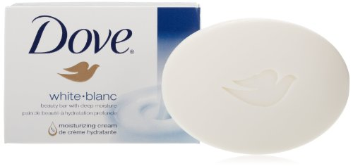 Dove Bar Soap, White, 4 Oz, 8 Count (Pack of 2)
