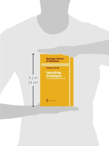 Smoothing Techniques: With Implementation in S (Springer Series in Statistics)