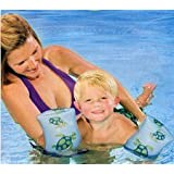 "9"" Swimming Arm Bands For Kids - Arm Floats. Sea Turtles"