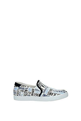 Armani Jeans C6556 Slip On Uomo Bianco 45