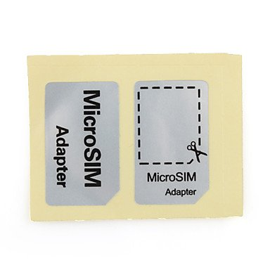 Micro Sim Card Adapter(Black)