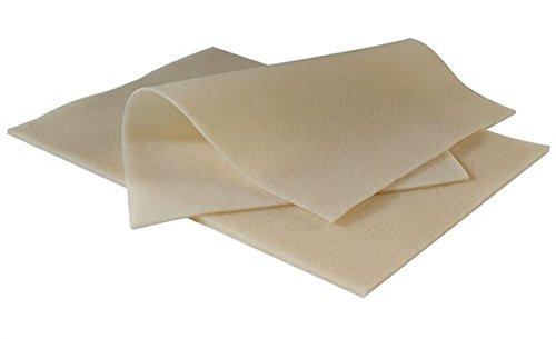 Crepe Rubber Sheet, Natural, 12