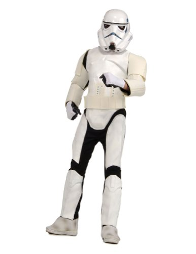 Adult-Costume Adult Deluxe Stormtrooper Halloween Costume - Most Adults