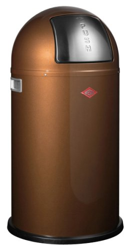 Wesco dustbin Pushboy 50 liter chocolate Brown 175 831-22