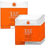 TanTowel Plus Self-Tanner Half Body Application - Plus (10-Pack)