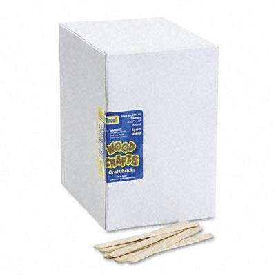 BUY NOW DIRECT -Chenille Kraft Natural Wood Craft Sticks-PT# BND- USCKC377401