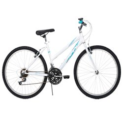 Huffy Women's Granite Mountain Bike, Pearl White, 26-Inch/Medium