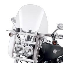 Quick-Release Detachable Compact Windshield 57338-08