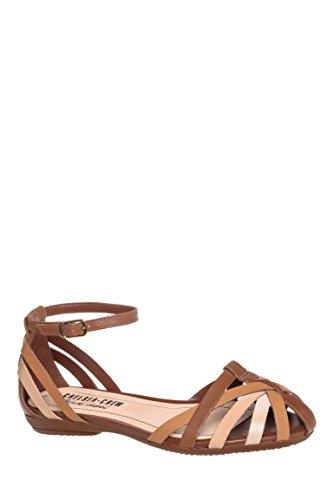 Allegra Ankle Strap Flat Sandal