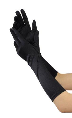 Efashionsquare-Damen-Elegante-Unter-Elbogen-Handschuhe-701148BL