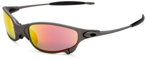 Oakley Men's Juliet Iridium Sunglasses,X-Metal Frame/Ruby Lens,one size