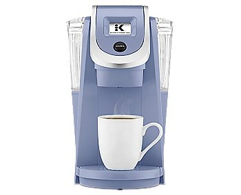 Keurig K250 PLUS 2.0, Brewing System Single Serve Plus Coffee Maker, SERENITY (Newest Color, Extremely Rare)