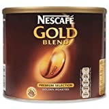 Nescafe Gold Blend Instant Coffee Tin 500g Ref 5200590