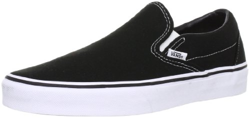 [バンズ] VANS スニーカー Classic Slip-On VN-0EYEBLK Black(Black/8.5)