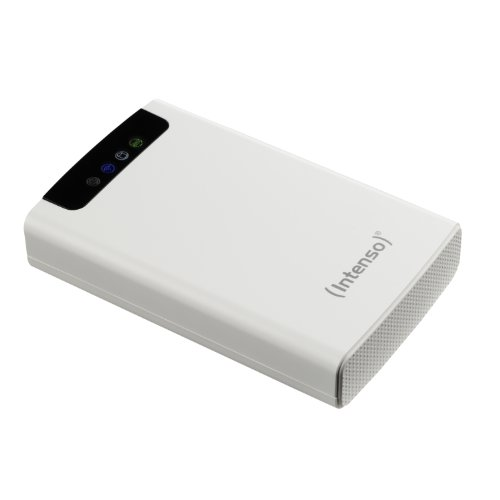 "Intenso Memory 2 Move Hard Disk Esterno con Wi-Fi 2.5"" da 500GB USB 3.0, Bianco"