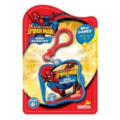 Marvel Spider-Man Spider Sense Web Target Mini Games & Clip