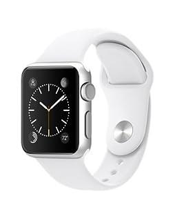 Apple Watch Sports Silver Aluminium Case Model (38mm, White)