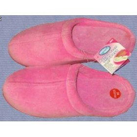 Cheap Ladies Pink Comfort Pedic Memory Foam Slippers (B000MDJP56)