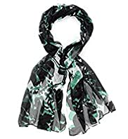 Per Una Pure Silk Shadow Floral Scarf