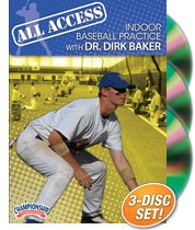 Dirk Baker: All Access Indoor Baseball Practice (DVD) by Championship Productions
