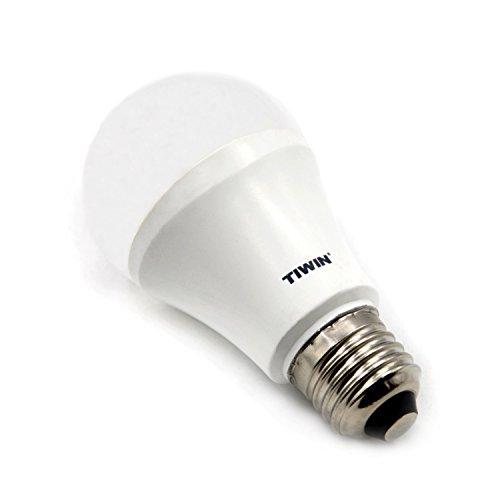 Tiwin e27 lampadina led smd bulbo faretto bianco freddo for Lampadine led 100 watt