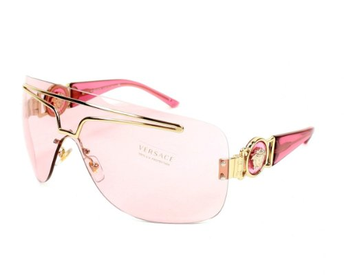 d7b8ceb9cde0 Versace Sunglasses VE 2132 125/25 Acetate plastic Pink fuschia fuchsia Pink  fuschia fuchsia