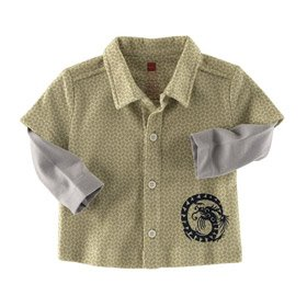 Camp Shirt - Buy Camp Shirt - Purchase Camp Shirt (Tea Collection, Tea Collection Apparel, Tea Collection Toddler Boys Apparel, Apparel, Departments, Kids & Baby, Infants & Toddlers, Boys, Shirts & Body Suits)