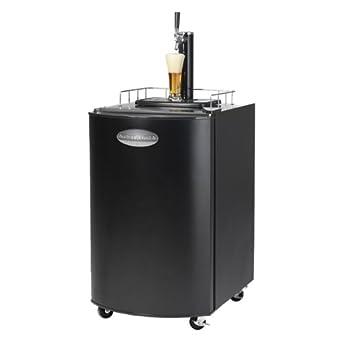 Nostalgia Electrics KRS2100 Kegorator Beer Keg Fridge, Black