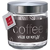 Bormioli Rocco Giara Natural Coffee Jar With Lid, 25-1/2-Ounce
