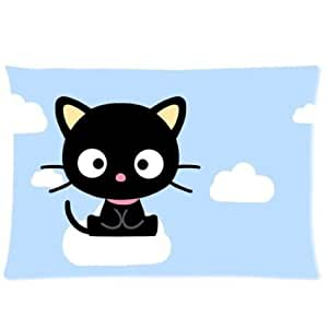 Amazon.com - Pookeb Chococat Cartoon Print Throw Soft Pillowcases