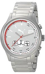 Puma Wheel Chrono - L Metal Silver Men's watch #PU102741004