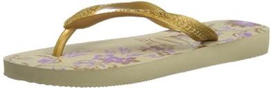 Havaianas Womens Spring Thong Sandals 4123230 Sand Grey 5 UK, 40 EU